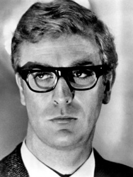 Harry Palmer, bespectacled cooking spy