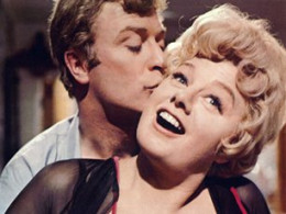 As Alfie getting up to no good with Shelley Winters