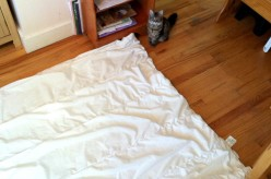 How to Put a Duvet Cover On by Yourself