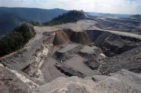 Stripping of Land in Coal Mining