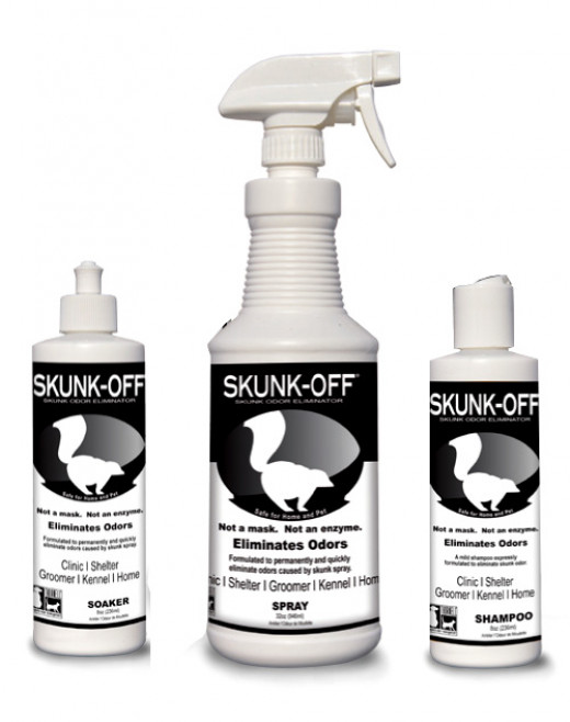 Skunk Odor Eliminator Kit