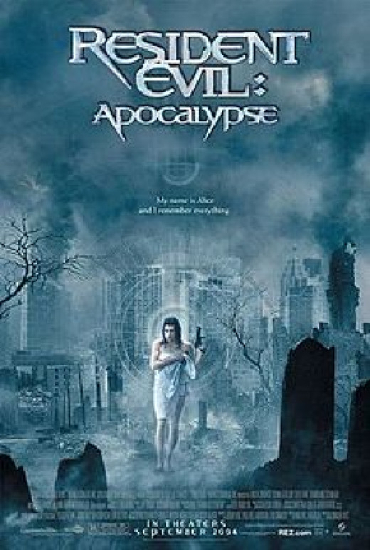 Theatrical Poster for Resident Evil: Apocalypse