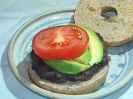Black bean veggie burgers are easy and delicious!