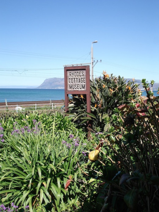 Rhodes Cottage where Cecil John Rhodes died in 1902, Muizenberg Get to walk in a great man's shoes.