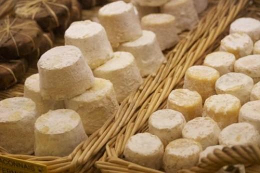 whole range of cheeses