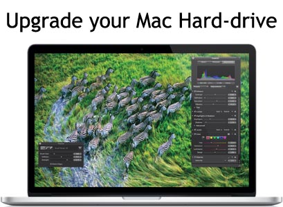 How to upgrade your Mac book Hard Drive