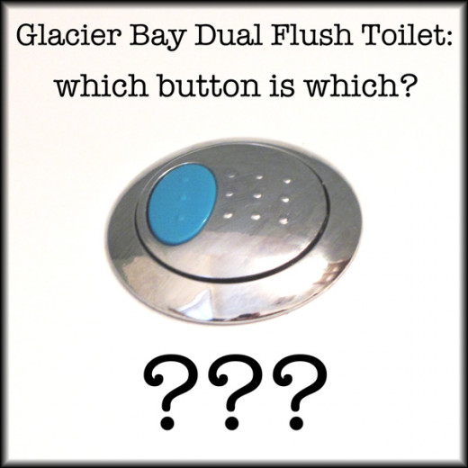Do you have a Glacier Bay Dual Flush toilet? Are you wondering which button is which? The instruction manual isn't exactly very clear; let me show you what's what!
