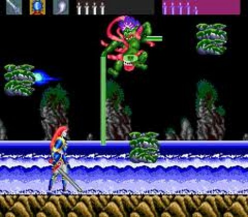 Night Creatures was side a scrolling horror shoot em up game that features lots of blood and gore not to mention destructive weapons.