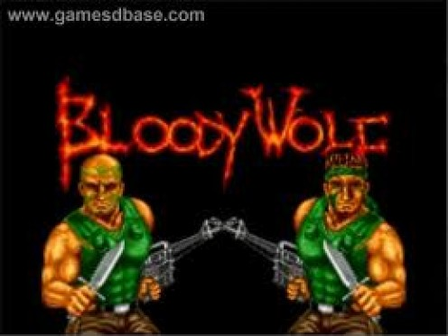 Bloody Wolf was a side scrolling shooter that was a one or two player video game for the TG-16 Gaming system.