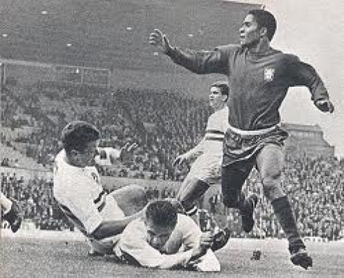 Eusebio was a Soccer legend who was as tough as he was skilled. He was a crowd favorite because of his playing style and attitude.