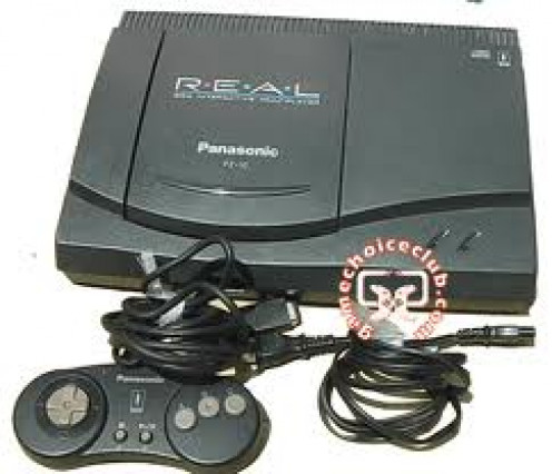 The Panasonic 3DO video game system has 32 bit graphics and some very entertaining games. It was a fantastic system but met its downfall at the hands of Sony's Playstation console.