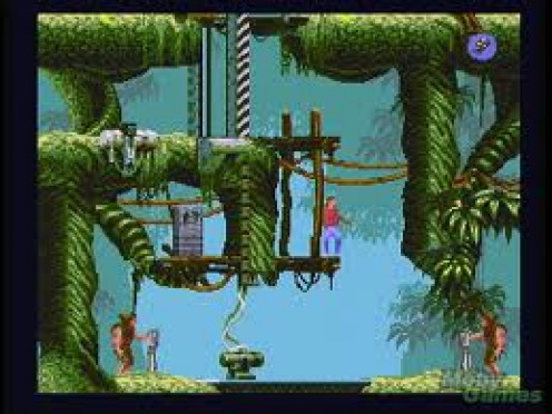 FlashBack had superb graphics for it's time and the sound was superb. You played in a weird, futuristic world.