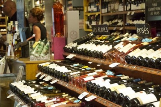 and wine, sorry I didn't take photo of the chocolate shop