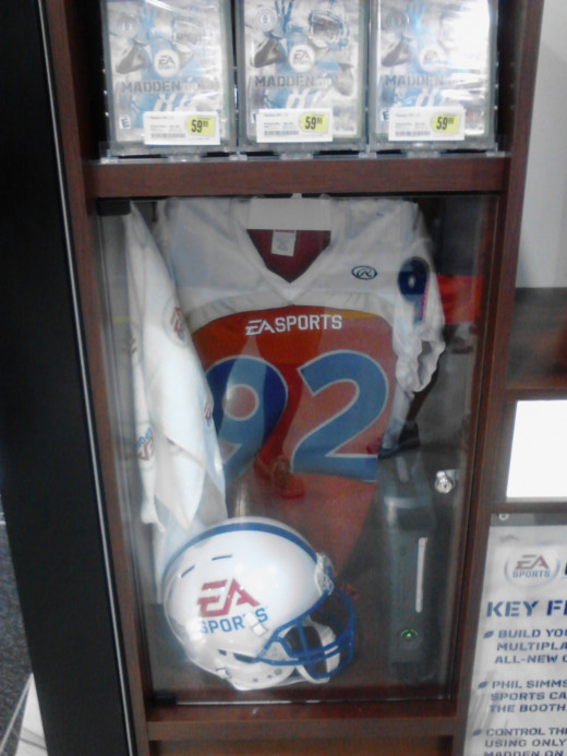 EA Sports American Football games and number 92