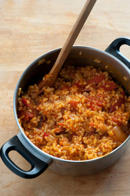 Cooking delicious authentic mexican rice is easy with this simple recipe!