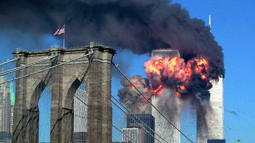 Explosion on World Trade Center