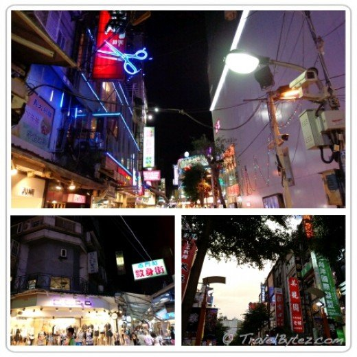 Ximending at night