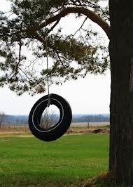 How To Make a Tire Swing In Your Front Yard