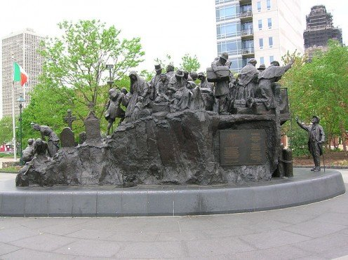 Philadelphia Famine Memorial