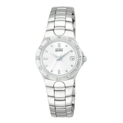 Men's | Stainless Steel | Eco-Drive | Diamonds