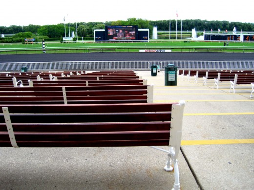 Open Seating Trackside