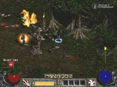 Diablo 2 was made for PC, XBOX and Playstation. It has some very horrid scenes which make the game very frightening.