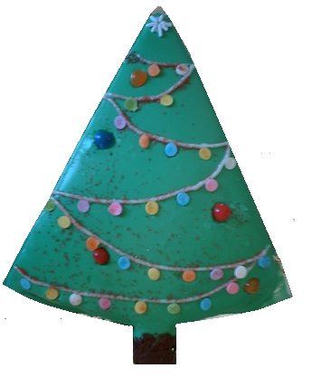 The kids loved decorating this Christmas tree as much as the real tree!