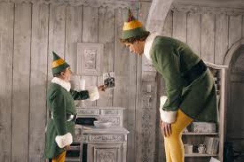 The Elf featured Will Ferrell as an over grown Elf and the laughs never stop rolling in.