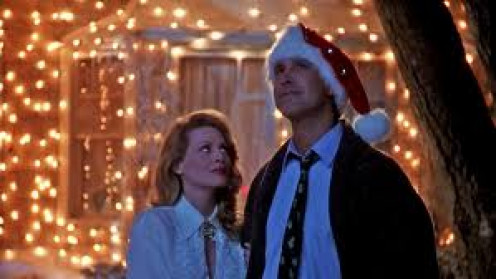 Christmas Vacation starred Chevy Chase and it follows the Griswald family and their brand of Christmas cheer.