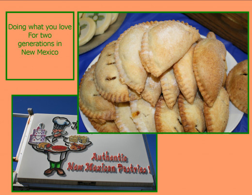 Empenadas are fruit filled pastries