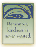 On Random Acts Of Kindness