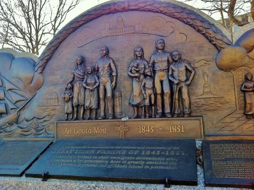 Rhode Island Irish Hunger Memorial