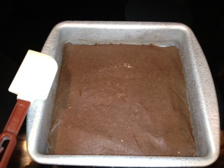 pic of protein bars in pan