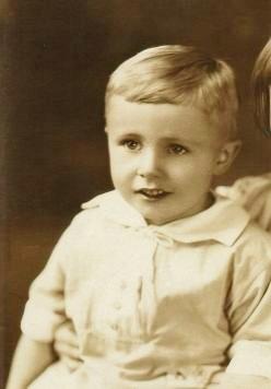 My dad as a small boy