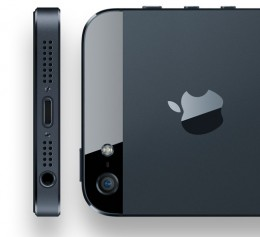 The Official Pictures - the New iPhone 5 Smaller Connector