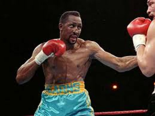 "Thomas ""The Hitman"" Hearns won titles in five weight classes and was a devastating puncher."