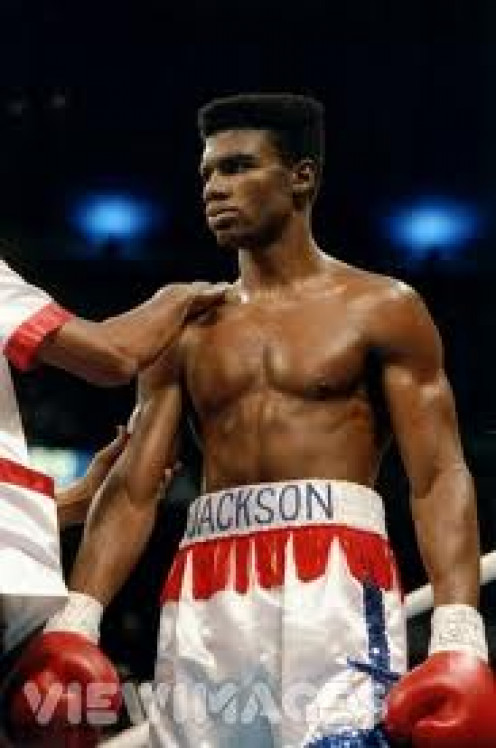 "Julian ""The Hawk"" Jackson was a former Jr. Middleweight and Middleweight champion of the world."