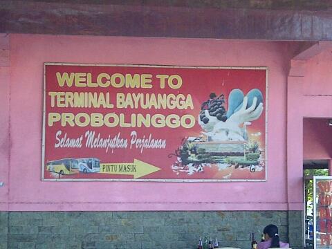 Bayuangga, Probolinggo bus station.