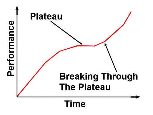 Special techniques are required to break through the training plateaus that hamper performance improvements
