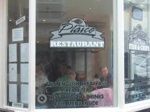 The Plaice Restaurant on Salcombe High Street serves the best fish and chips I have ever eaten.