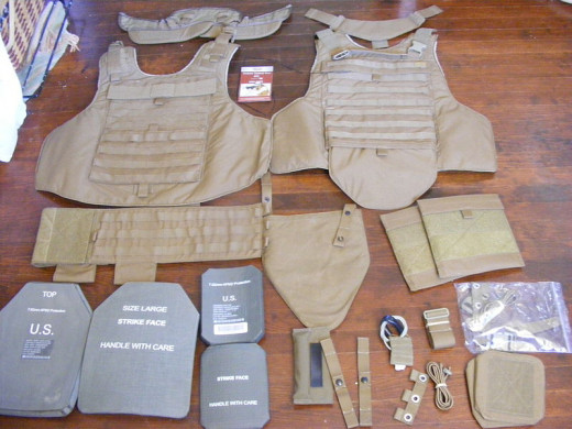 Common military combat equipment