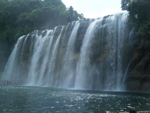 Tinuy-an Falls in Bislig, Surigao del Sur, Philippines