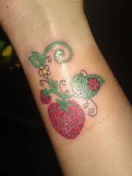 Strawberry Tattoos And Designs Tattoo Meanings Ideas