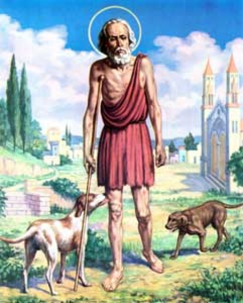 St Lazarus Imagery