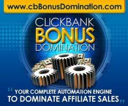 Clickbank Bonus Domination