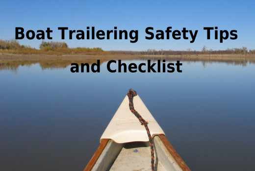 Get on the water quickly by following these boat trailer safety tips.