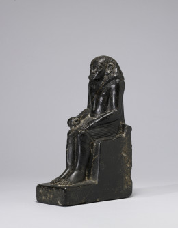 The Egyptian Pose is the best for those who cannot sit on the floor to meditate or practice pranayama