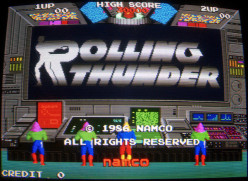 Rolling Thunder Arcade Game