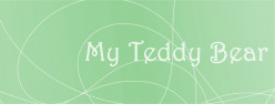 Poem: My Teddy Bear