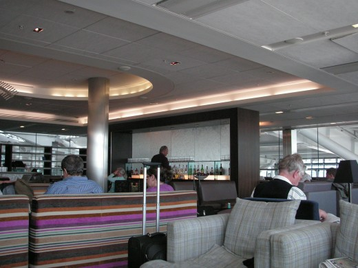 One of the perks of business or first class travel is access to airline lounges. Even with a high membership level on a frequent flyer program you can access lounges even if you're travelling in economy